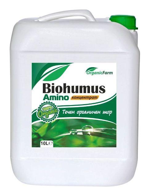 от Биохумус-амино-туба-10-л